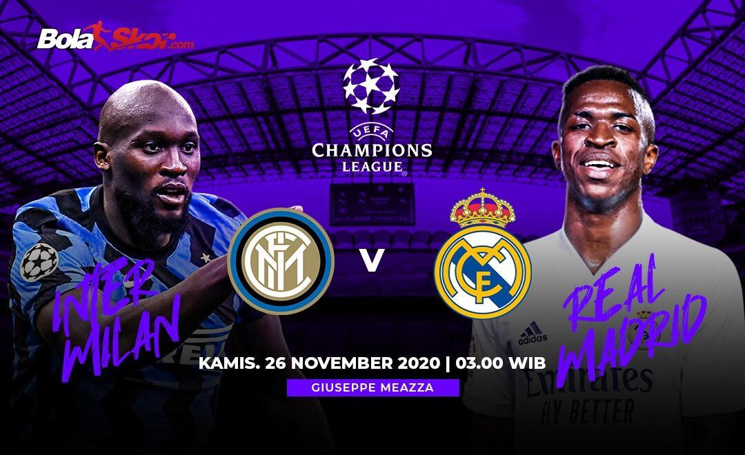 6 Pemain Kunci Duel Inter Milan Vs Real Madrid