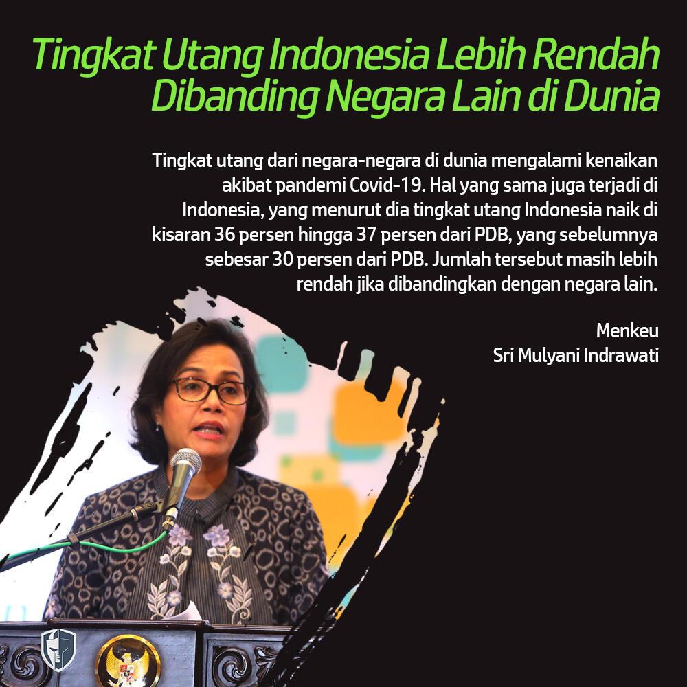 Sri Mulyani Jawab Kritik Lonjakan Utang Pemerintah Era Presiden Jokowi
