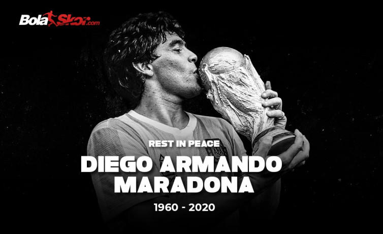 Pesan Menyentuh Messi dan Ronaldo untuk Maradona