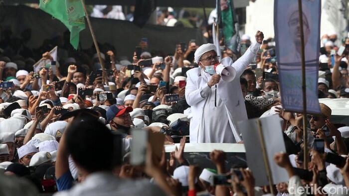 Habib Rizieq Berpotensi Jadi Tersangka