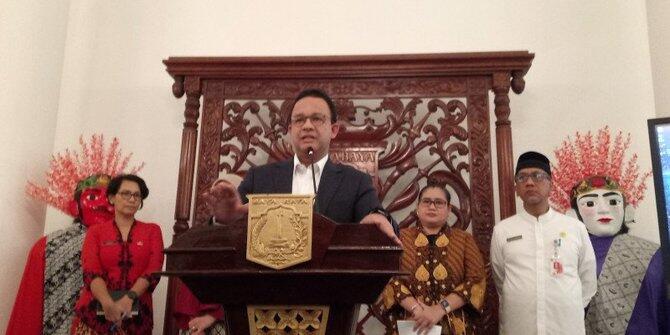 Anies Baswedan Mendapat Penghargaan Gubernur Terpopuler 2020 dari Humas Indonesia