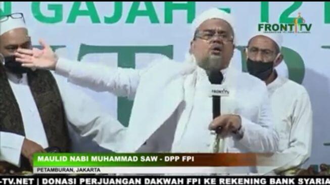 Habib Rizieq Jatuh Sakit karena Dipeluk dan Diciumi, Dirawat di RS Bogor