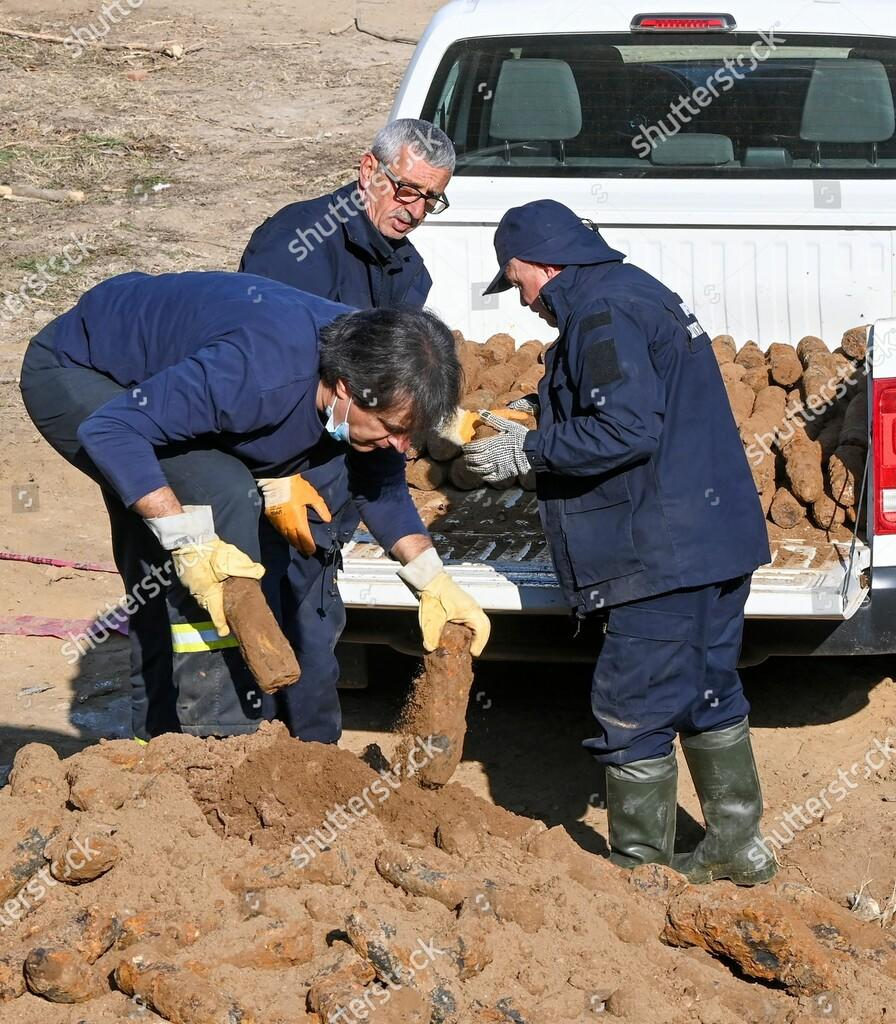 Viral | Lebih Dari 3600 Amunisi Peninggalan Perang Dunia Pertama Ditemukan di Bitola