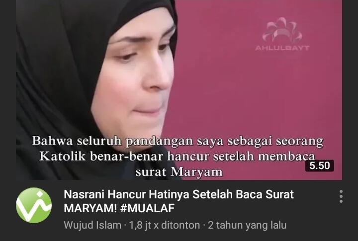 Wendy Jadi Mualaf Usai Mencari-cari Kesalahan Alquran