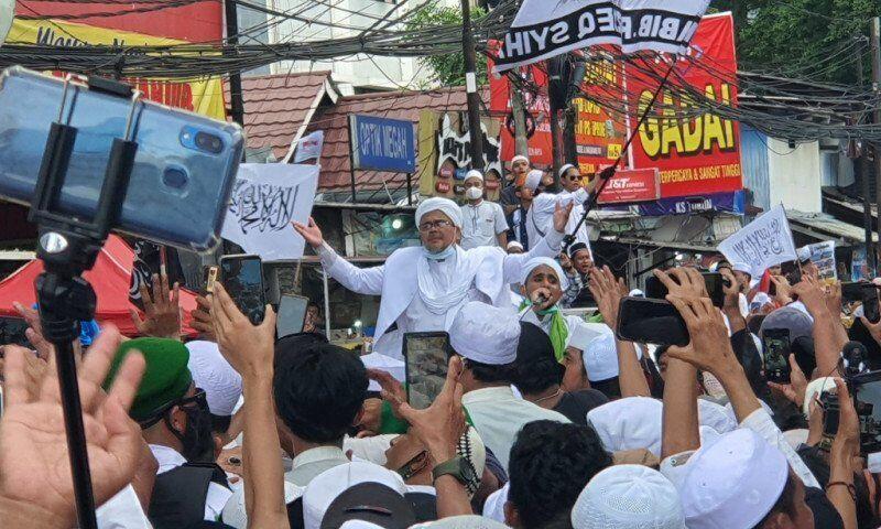 Habib Rizieq Shibah Dirawat di RS UMMI Bogor