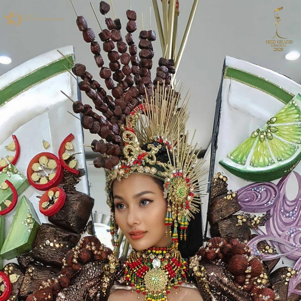 Kharisma Aura, Si Eksotis Asli Majalengka! Bakal Wakili Indonesia Di Kontes Dunia