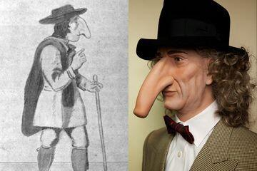 Unik! Mengenal Thomas Wedders, Manusia Dengan Hidung Termancung Di Dunia