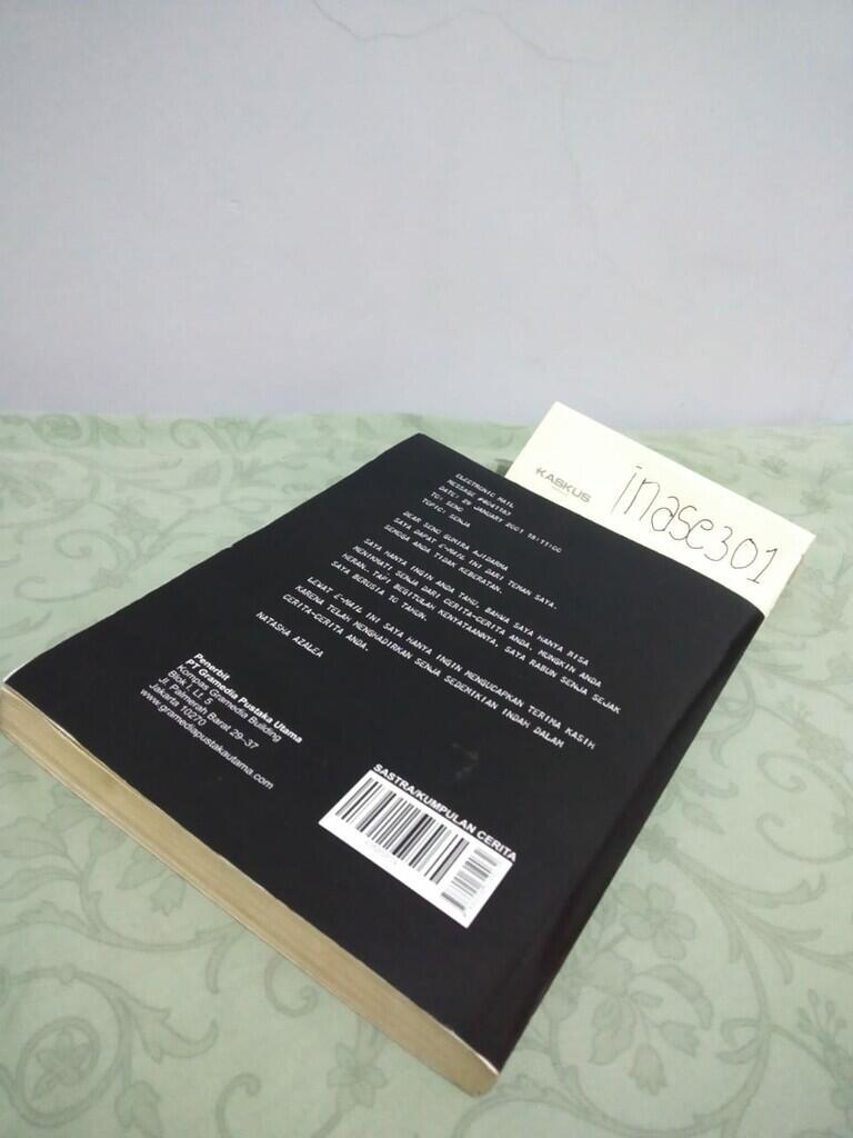 [COC] Review Sepotong Senja Untuk Pacarku Karya Seno Gumira Ajidarma