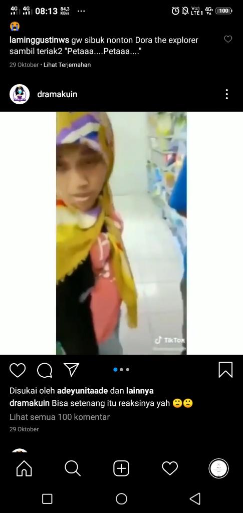 Reaksi Seorang Ibu yang Terciduk Mencuri di Minimarket ini Bikin Pengen Nampol