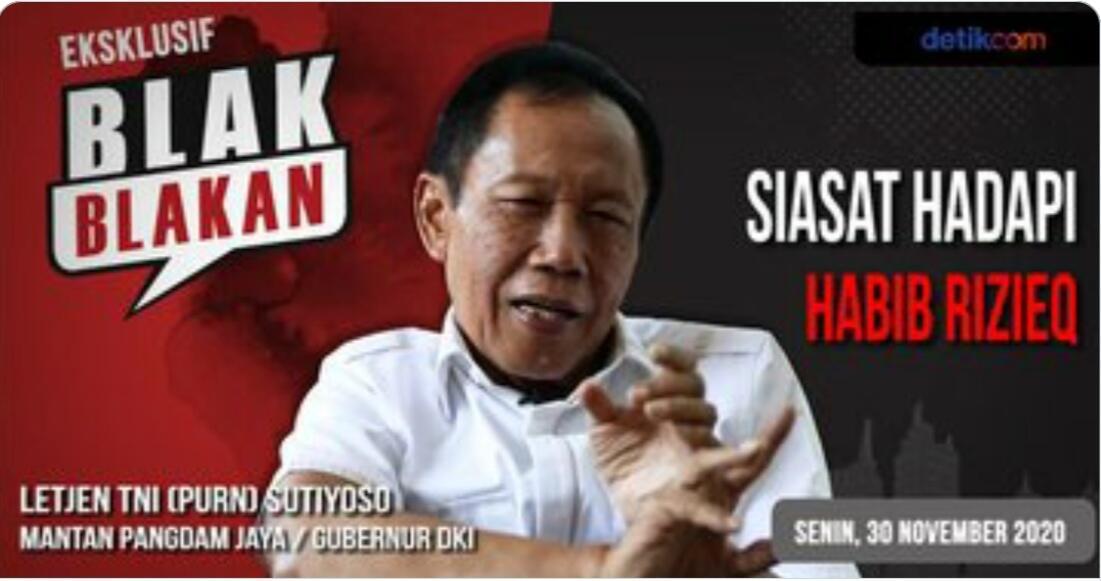 Kisah Bang Yos Menjinakkan Habib Rizieq dan FPI