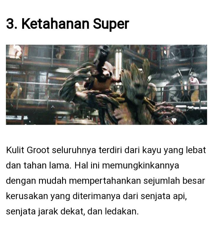 The Guardians of the Galaxy, Groot Yang Pernah Jaya Di Masanya