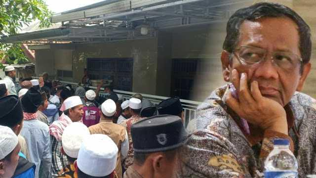 Rumah Mahfud MD yang Di Madura Digerebek Warga, Tak Terima Pemanggilan Habib Rizieq