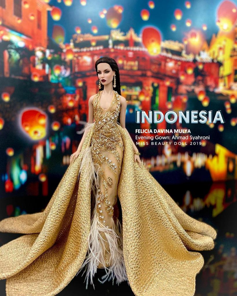 Miss Beauty Doll, Kontes Kecantikan Khusus Boneka! Indonesia Juga Ikut Lo