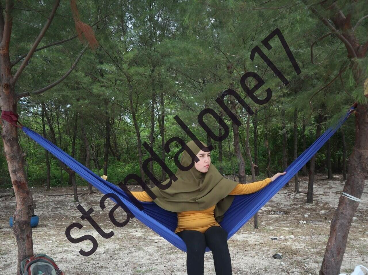 [COC TRAVELLER] Hammock-an ala PASUTRI baru di Pulau Panjang, Jepara