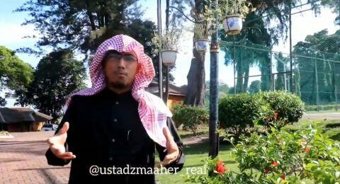 Ustaz Maaher At Thuwailibi Alias Soni Ernata Ditangkap Bareskrim Polri