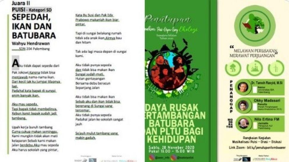Keras! Bocah SD Sindir Jokowi Lewat Puisi Sepedah, Ikan dan Batubara