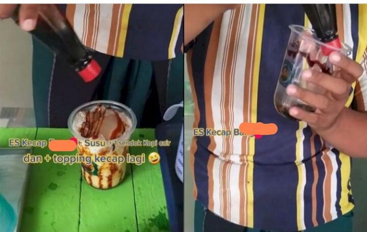 Viral Minuman Es Kecap Pakai Susu, Bikin Netizen Heran dan Penasaran dengan Rasanya!