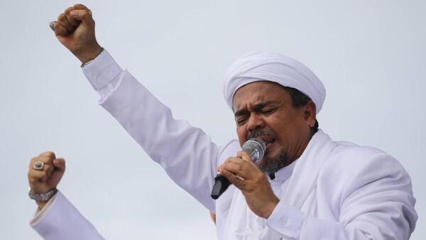 Bantah Mangkir, Habib Rizieq: Saya Tidak Pernah Lari dan Sembunyi