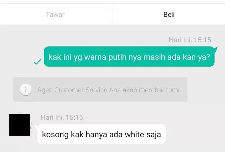 Beberapa Chat Antara Penjual & Pembeli Online yang Bikin Ngakak Parah