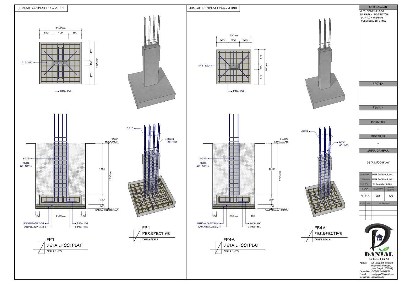 Jual Jasa Desain Gambar Bangunan (Arsitek, Interior ...