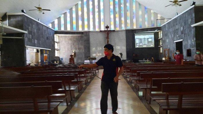 Gereja Katolik St Theresia : Jemaat yang Tak Terdaftar Dilarang Masuk Ibadah Natal