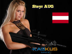 Steyr AUG, Senapan Serbu Buatan Austria yang Mendunia