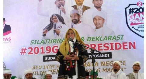 Prabowo-Sandiaga Masuk Kabinet Jokowi, Doa Neno Warisman Viral Lagi