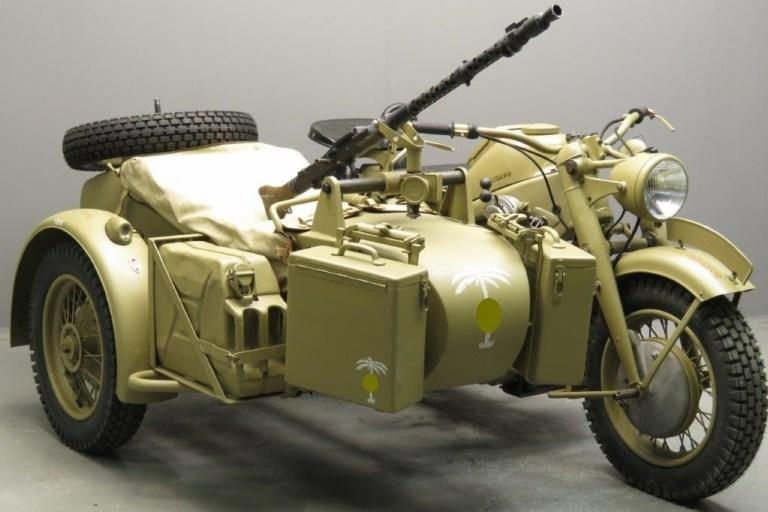 BMW R75 - Motor Militer Buatan Jerman yang Mendunia Semasa Perang Dunia 2