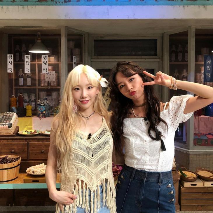 Besties! Taeyeon 'SNSD' Kirim Kejutan Manis Buat Hyeri 'Girl's Day' ke Lokasi Syuting