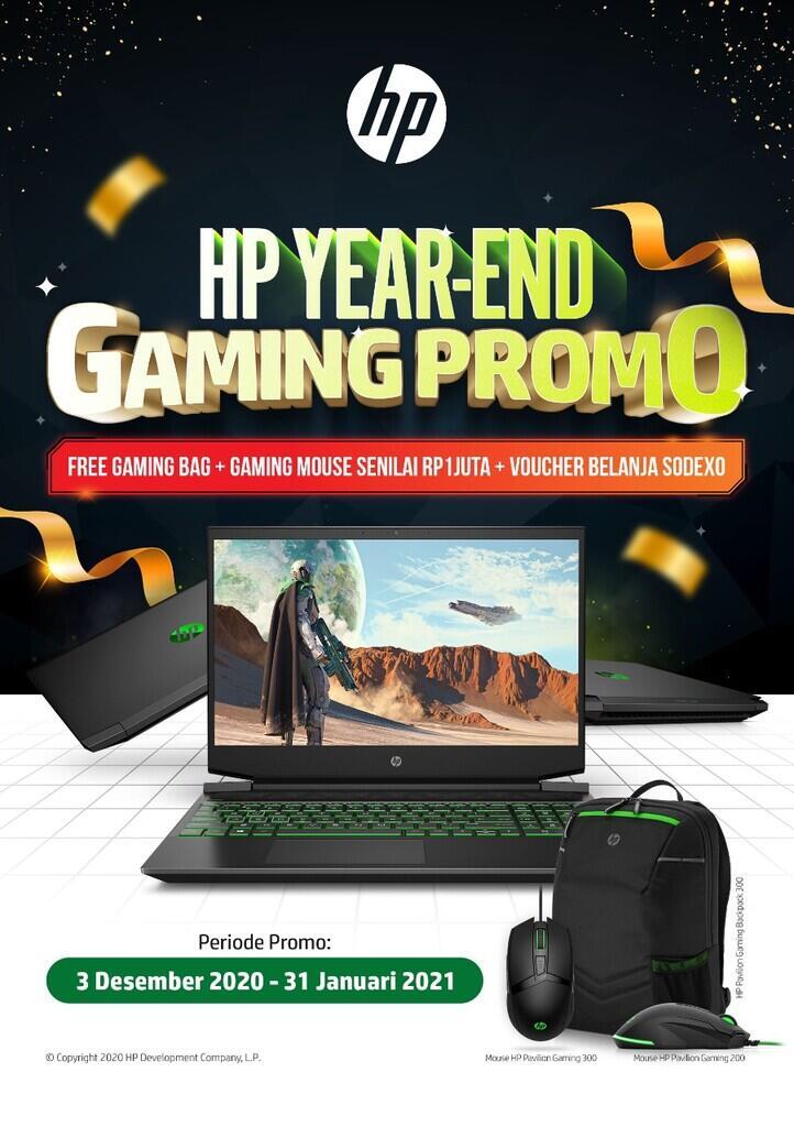 Laptop HP Pavilion Gaming, Satu Harga Sejuta Keunggulan