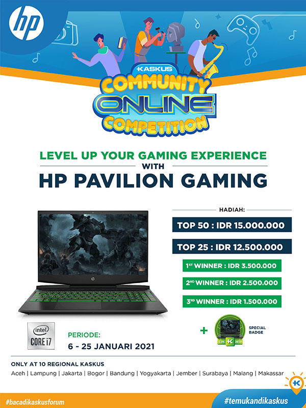 COC edisi Spesial HP Pavilion Gaming bareng 10 Regional KASKUS Gan..Yuk ikutan