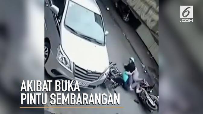 Sering Lupa!! Hati-hati Buka Pintu Mobil, Akibatnya Bisa Bikin Fatal Loh