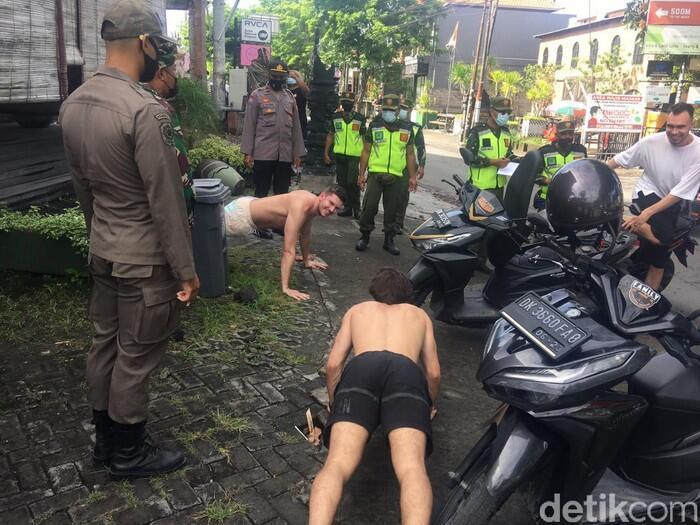 Ditegur karena Tak Pakai Masker, WNA di Bali: Tahu Apa Kamu soal Pandemi?