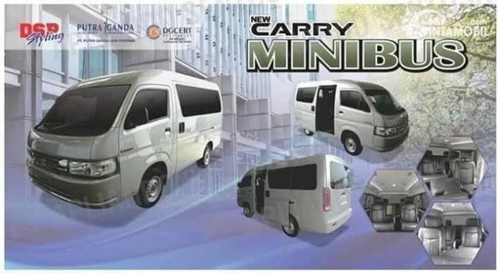 Dulu Angkot Sekarang Suzuki Carry Jadi Lebih Mewah