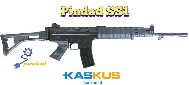 Pindad SS1 - Senapan Serbu Buatan Dalam Negeri yang Digunakan Oleh TNI dan POLRI