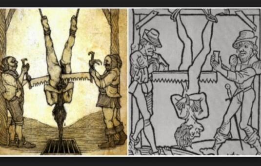 Jangan Dibayangkan! Inilah Eksekusi Hukuman Mati Paling sadis dan menyeramkan Dulu