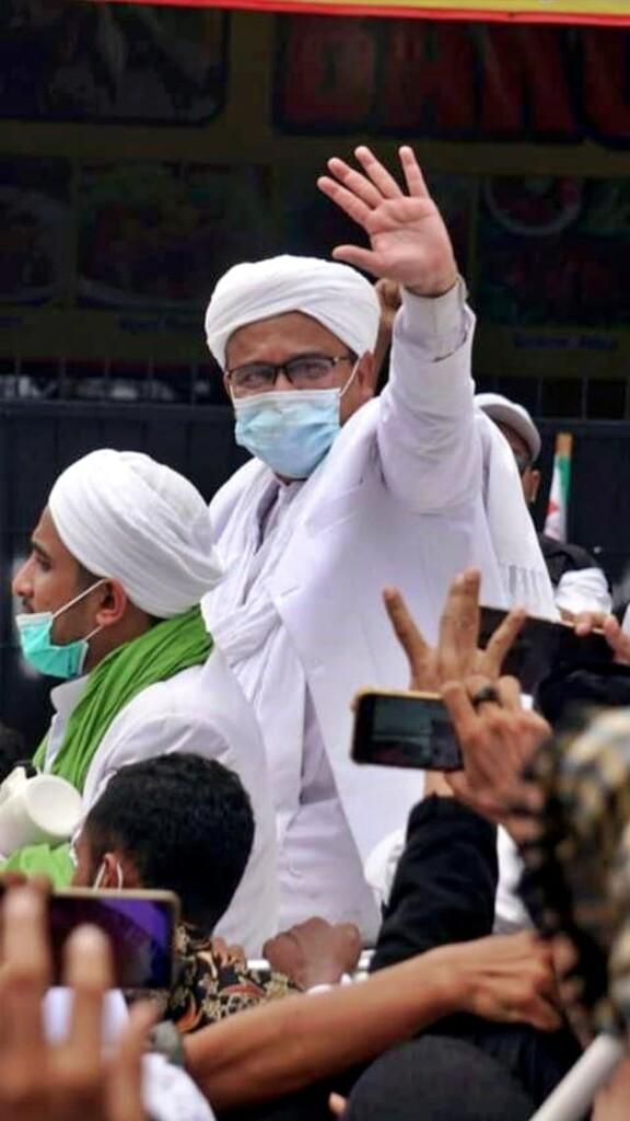 Bareskrim: Habib Rizieq Positif COVID-19 saat di RS Ummi