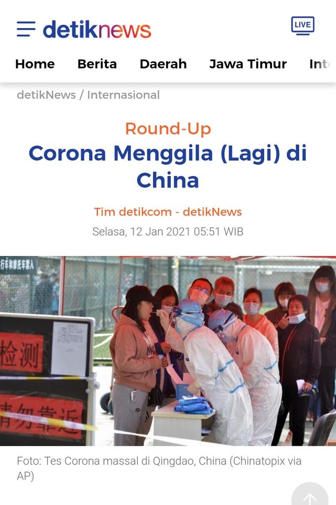 Warga Tolak Vaksin Sinovac dari China Bisa Dipenjara 1 Tahun