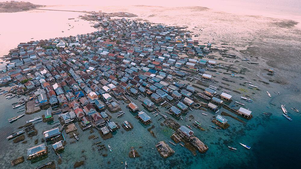 Pulau Bungin! Pulau Terpadat Di Indonesia Bahkan Dunia Dari Nusa Tenggara Barat!