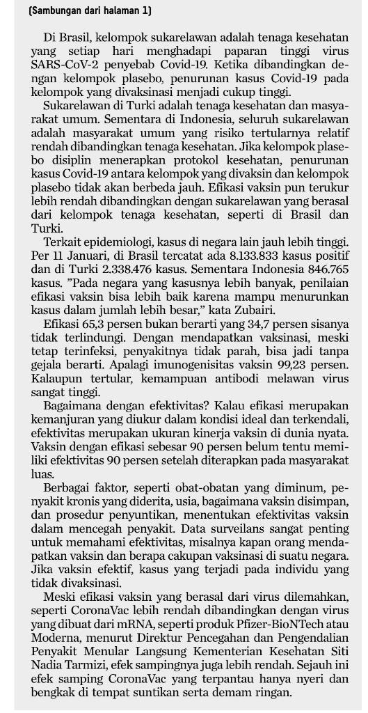 Usai Jokowi Divaksin, CEO Sinovac Buka Suara