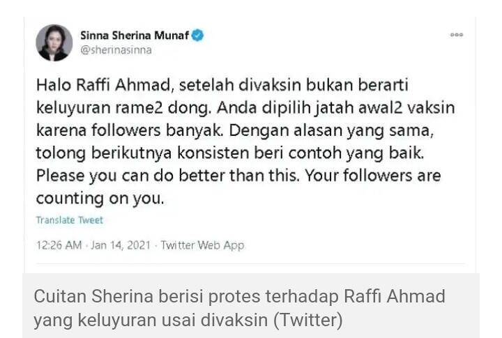 Raffi Ahmad Keluyuran Tanpa Masker Usai Divaksin, Publik: Keterlaluan