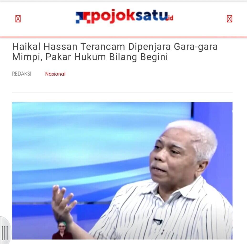 Muannas Alaidid Serukan Tangkap Mbak You Ramakan Jokowi Lengser di 2021