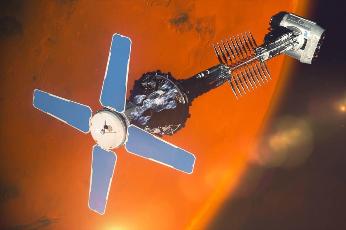 Rolls-Royce Kembangkan Mesin Nuklir Yang Dapat Mencapai Mars Hanya Dalam 3 Bulan