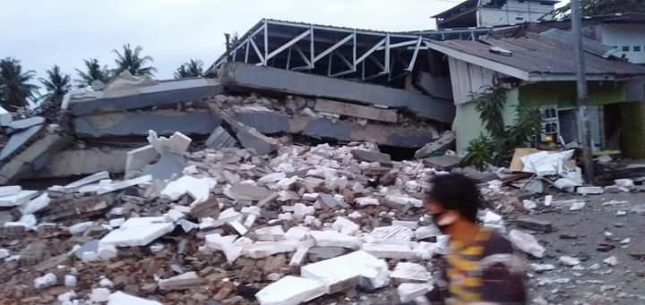 Gempa M 6,2 Kembali Guncang Majene Sulbar