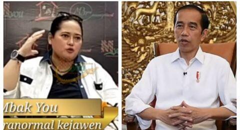 Mbak You Diancam Dipolisikan Terkait Ramalan tentang Jokowi