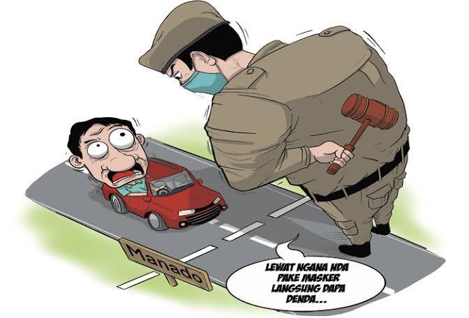 Keadilan Hukum Tentang Protokol Kesehatan Dipertanyakan!! Apa Tanggapanmu?