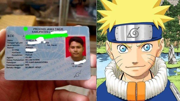 Tanda Tangan di KTP ala Lambang Konoha di Anime Naruto, Bikin Pemuda ini Viral