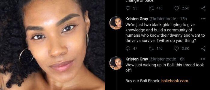 Siapa Kristen Gray, WNA di Bali yang Thread-nya Viral?