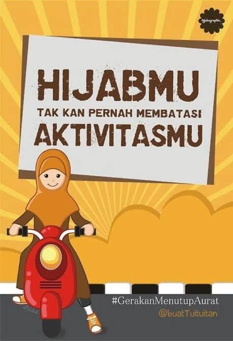 Jilbab atau Gamis Terlilit Ban, Siapa yang Salah?