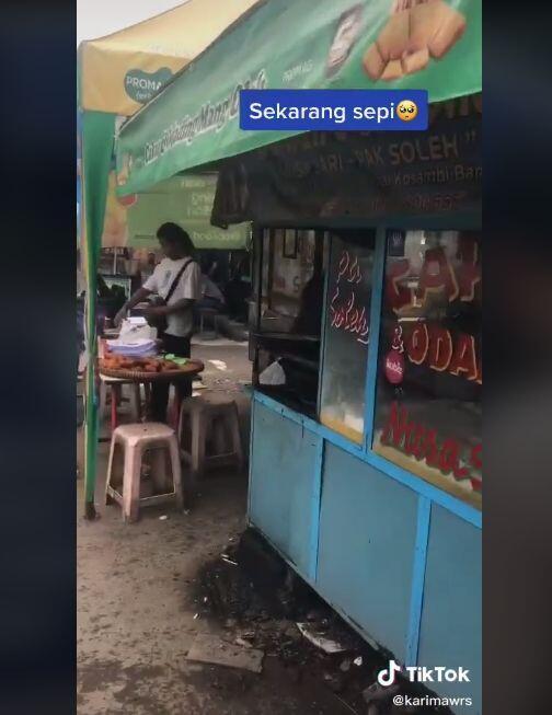 Miris, Kondisi Kini Warung Odading Mang Oleh Sepi Pembeli, Sudah Tak Laku?